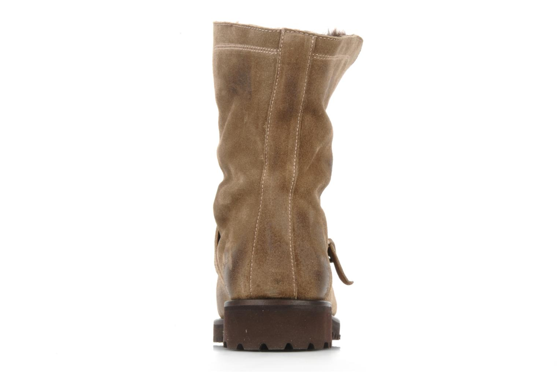 Bottines et boots Georgia Rose Molton Beige vue droite