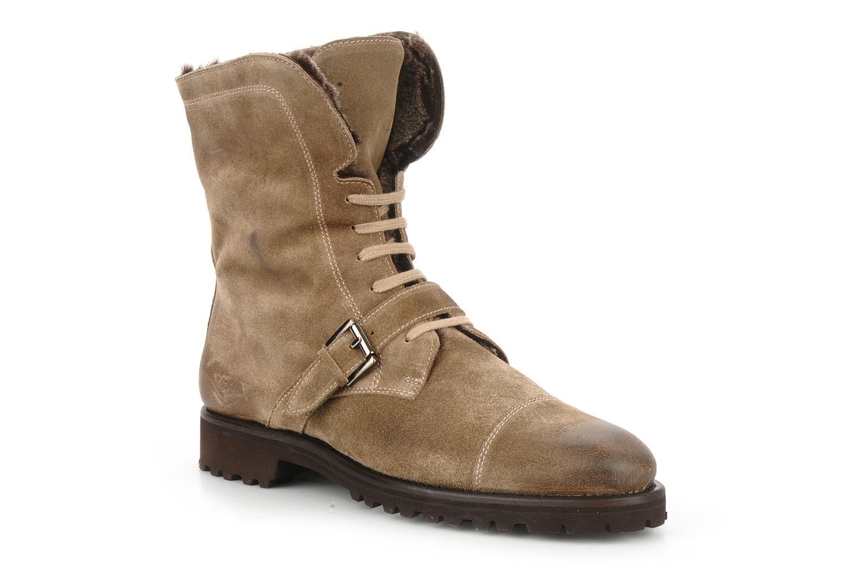 Bottines et boots Georgia Rose Molton Beige vue détail/paire