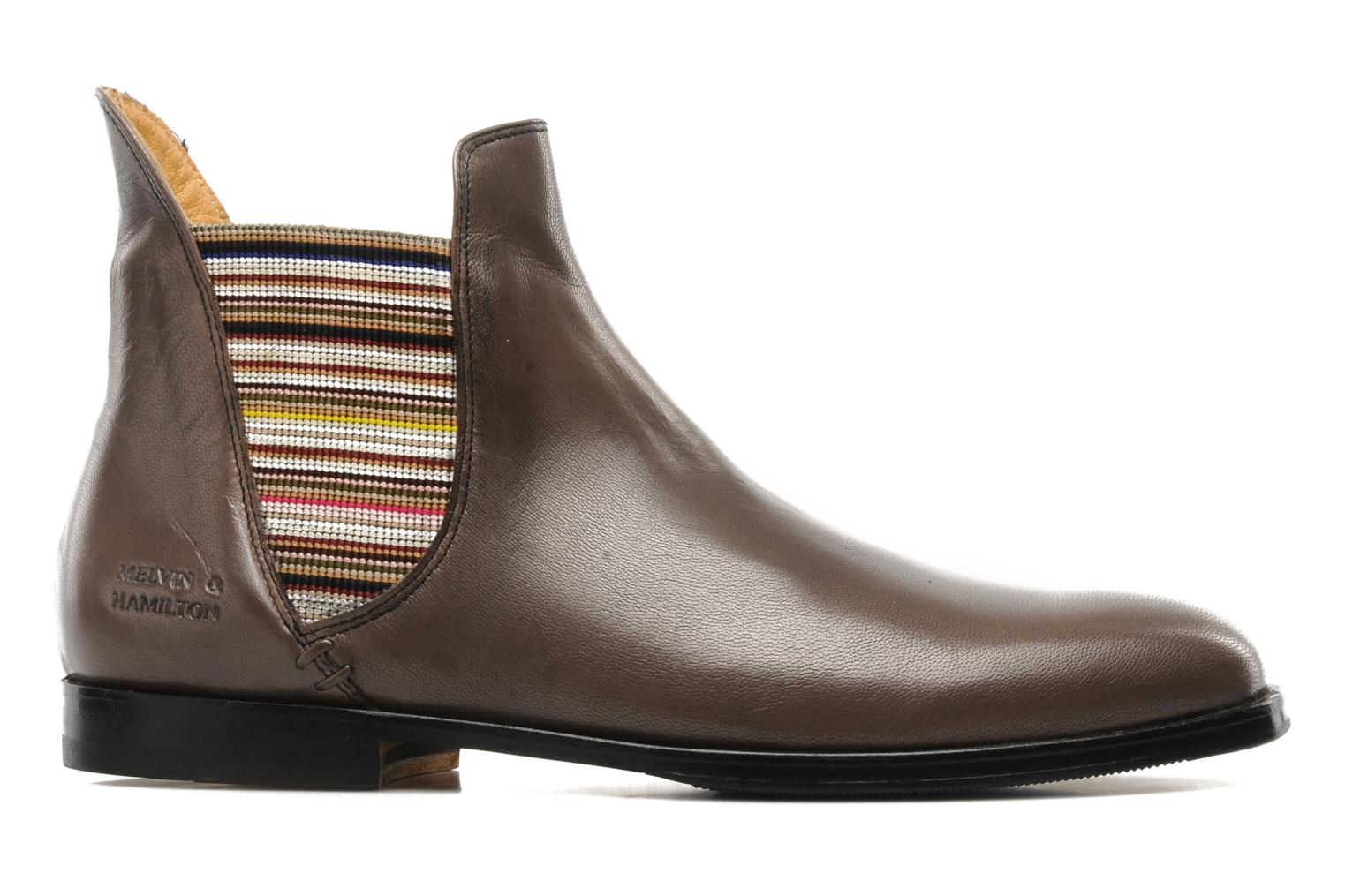 Ankle boots Melvin & Hamilton Susan 2 Brown back view