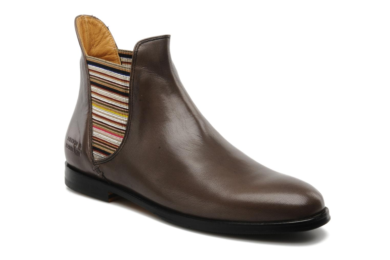 Ankle boots Melvin & Hamilton Susan 2 Brown detailed view/ Pair view