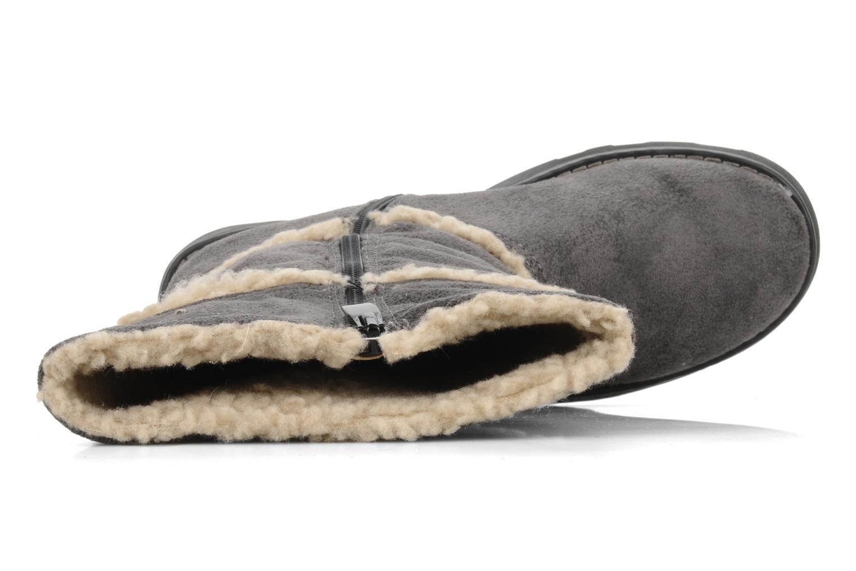 Stiefel I Love Shoes Fashion grau ansicht von links