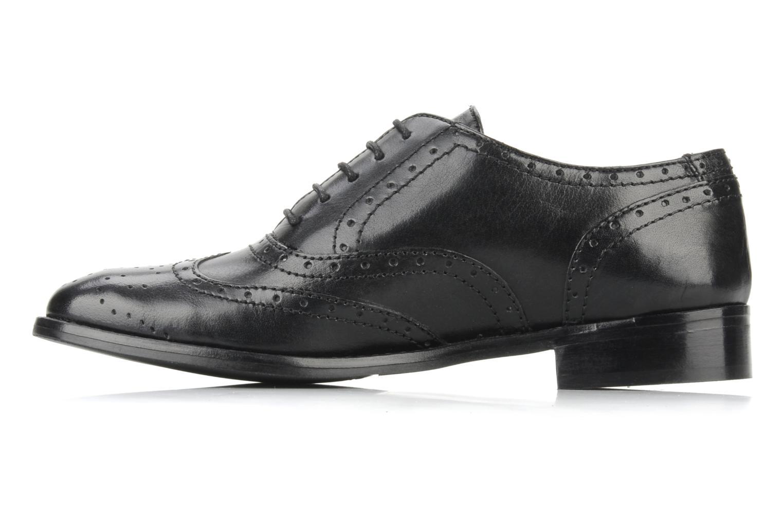 Chaussures à lacets Georgia Rose Dodda Noir vue face