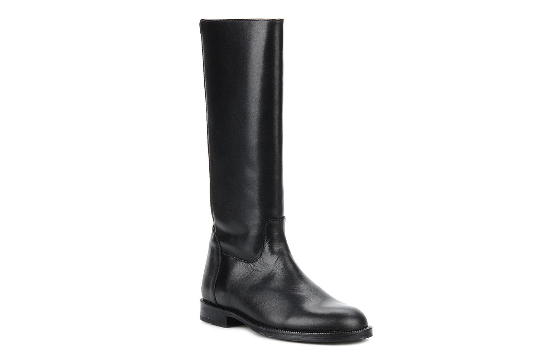 Margaret Black leather