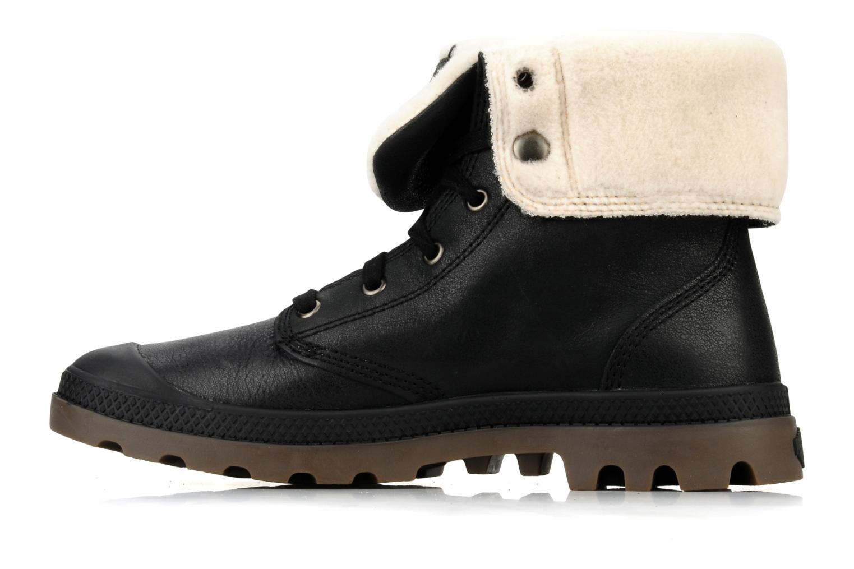 Boots en enkellaarsjes Palladium Baggy l s m Zwart voorkant