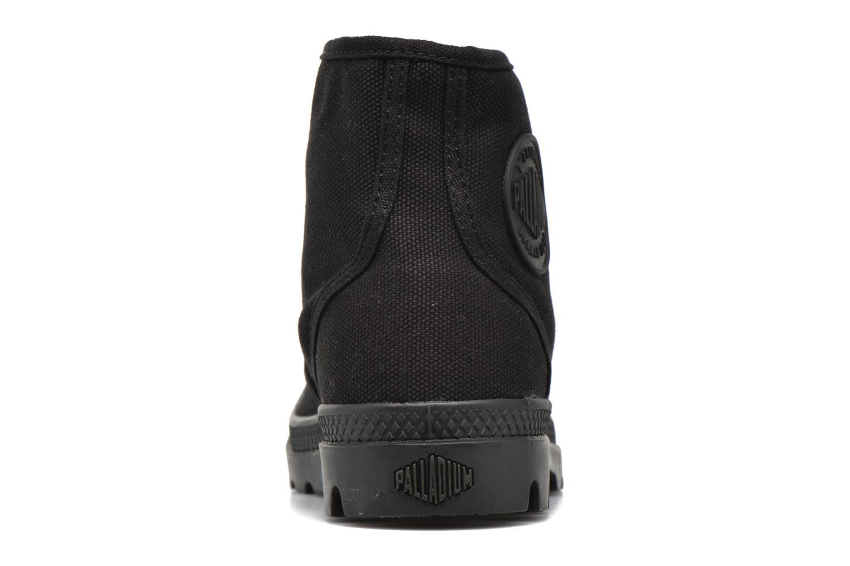 Sneaker Palladium Us pampa hi w schwarz ansicht von rechts