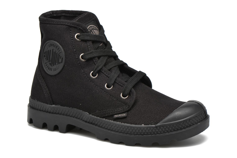 Sneaker Palladium Us pampa hi w schwarz detaillierte ansicht/modell