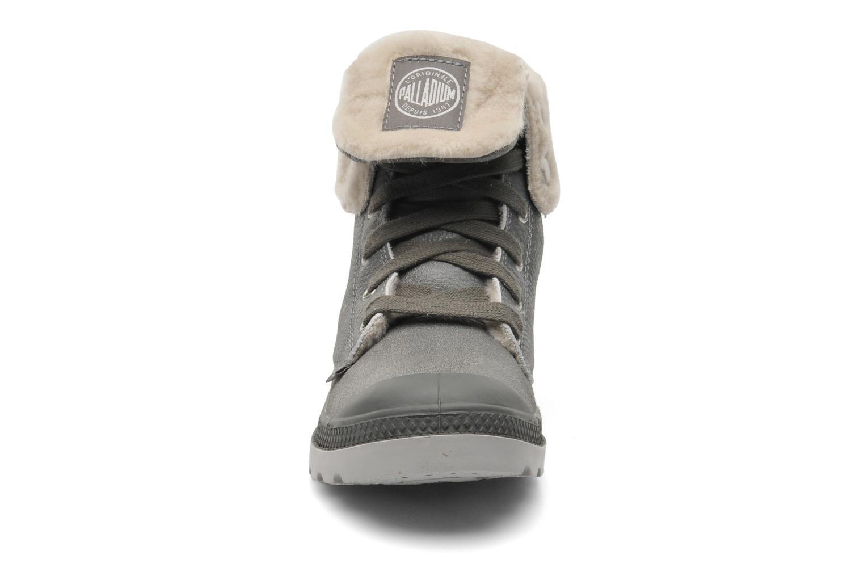 Bottines et boots Palladium Baggy ls w Gris vue portées chaussures