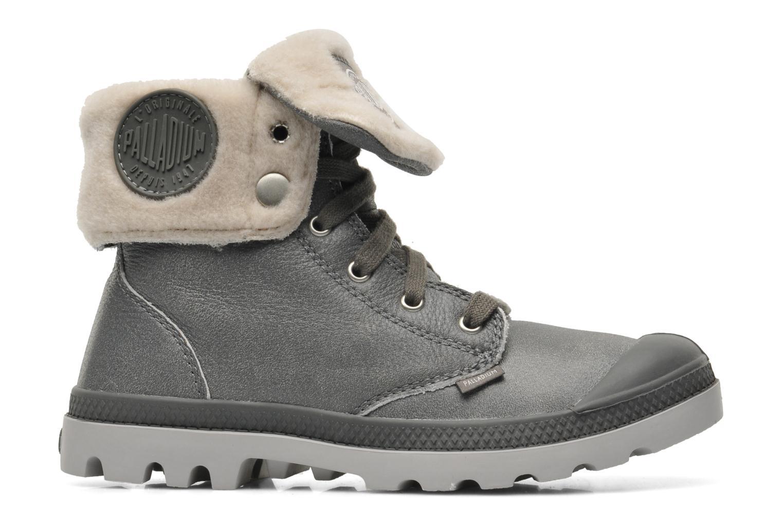 Bottines et boots Palladium Baggy ls w Gris vue derrière