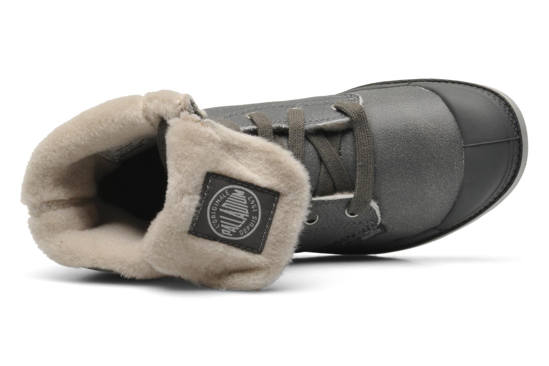 Bottines et boots Palladium Baggy ls w Gris vue gauche