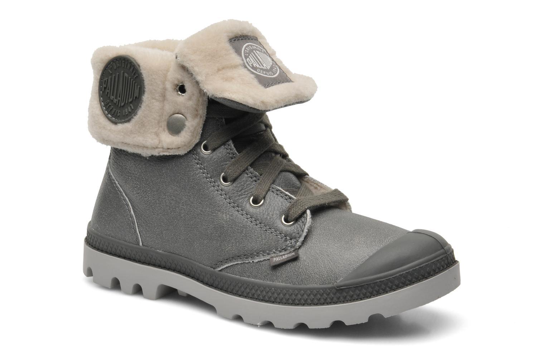 Bottines et boots Palladium Baggy ls w Gris vue détail/paire