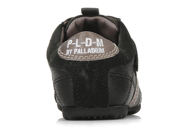 Sneakers Palladium P-L-D-M Racket kid cash Zwart rechts