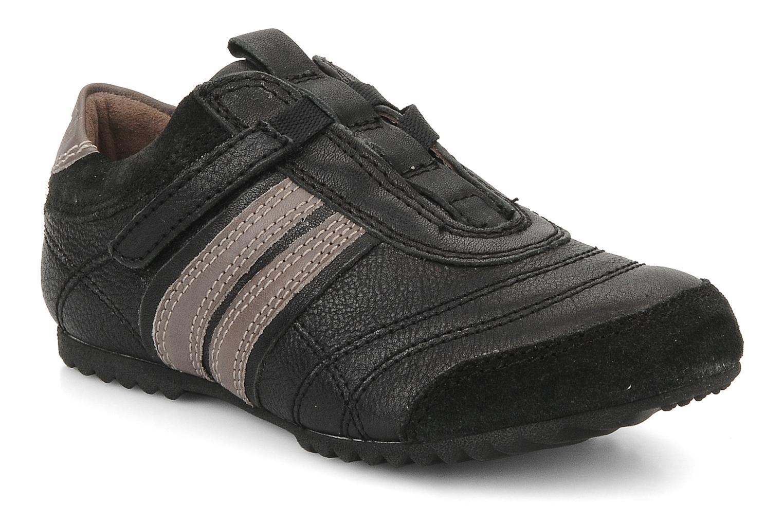 Sneakers Palladium P-L-D-M Racket kid cash Zwart detail