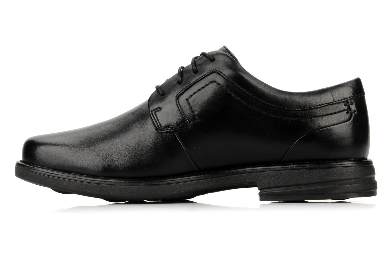 Chaussures à lacets Clarks Carter air Noir vue face