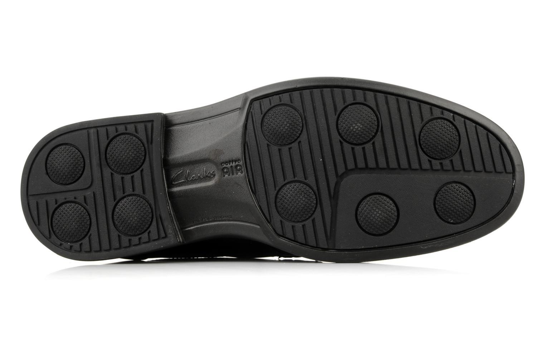 Chaussures à lacets Clarks Carter air Noir vue haut