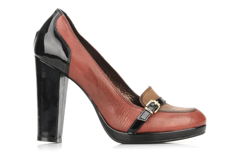 High heels San Marina Moracee Red back view