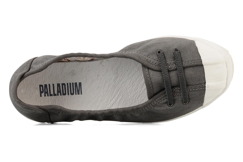 Ballerinas Palladium Marion cvs grau ansicht von links