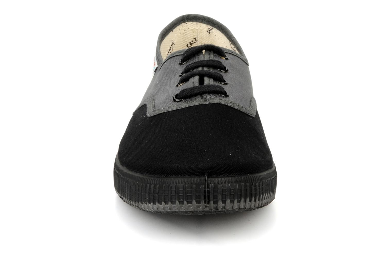Baskets Victoria Victoria bicolore m Gris vue portées chaussures