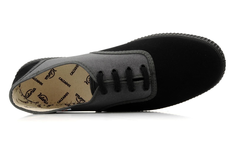 Sneaker Victoria Victoria bicolore m grau ansicht von links
