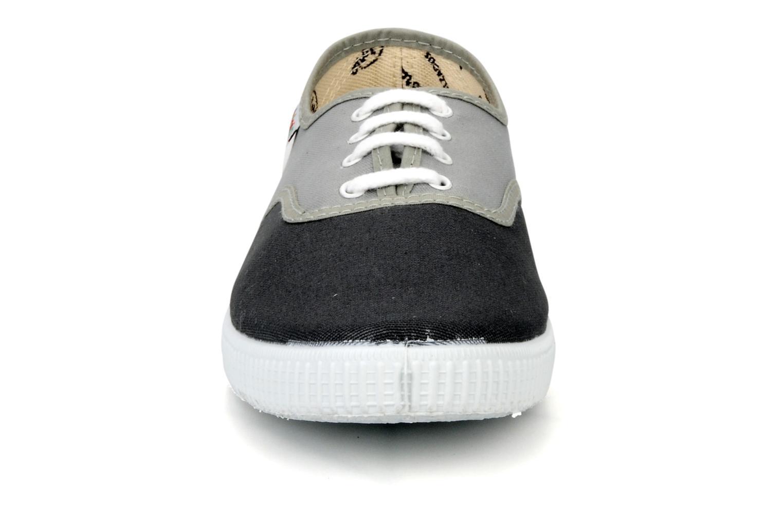 Sneaker Victoria Victoria bicolore m grau schuhe getragen