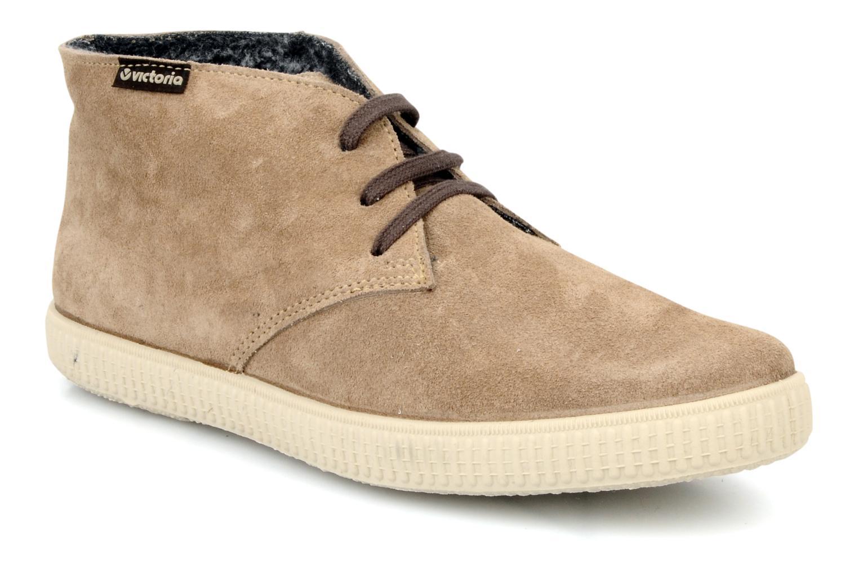 Chaussures à lacets Victoria Safari serraje M Beige vue détail/paire
