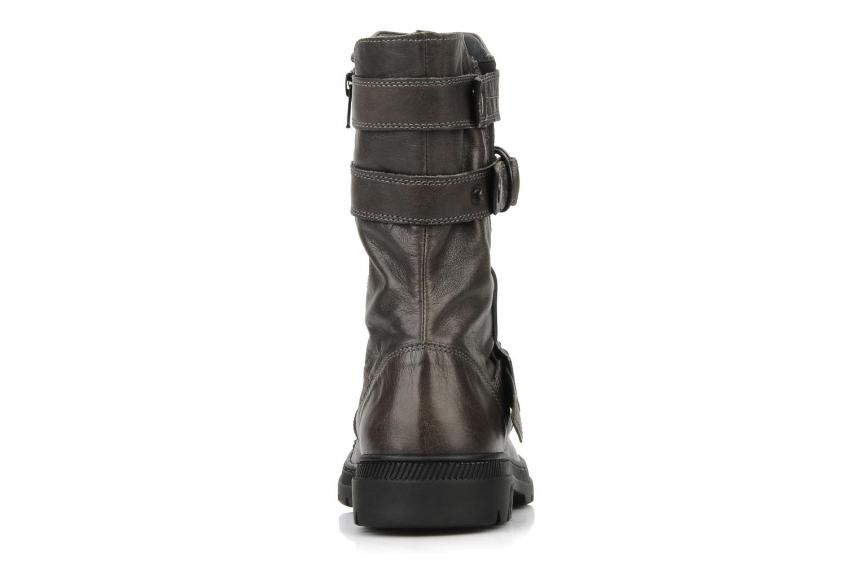 Bottines et boots Pataugas Aloe Gris vue droite