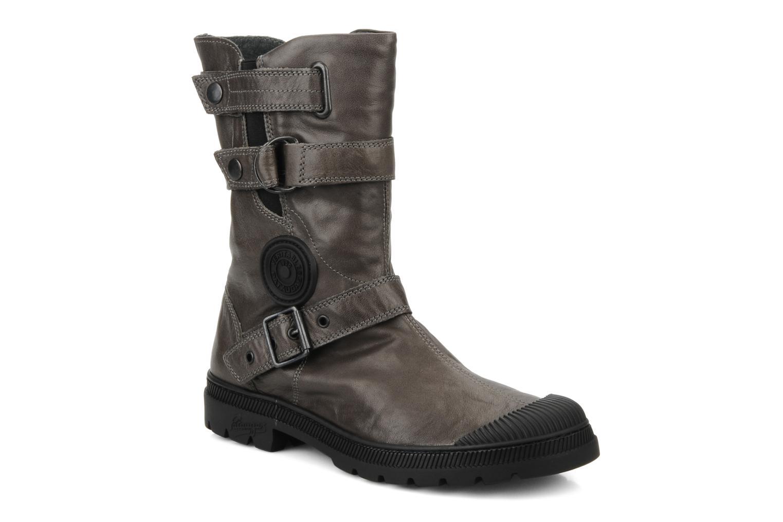 Bottines et boots Pataugas Aloe Gris vue détail/paire