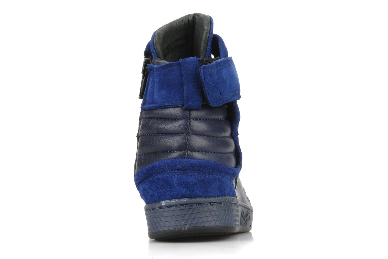 Sneaker Pataugas Justincvn e blau ansicht von rechts