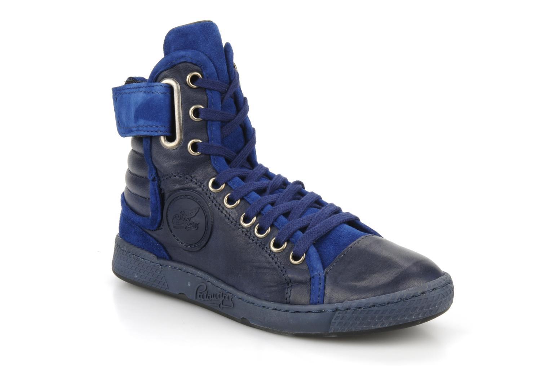 Sneaker Pataugas Justincvn e blau detaillierte ansicht/modell