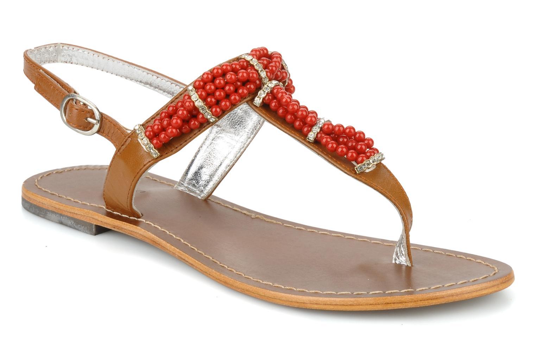 Sandales et nu-pieds Jonak Yoya Rouge vue détail/paire