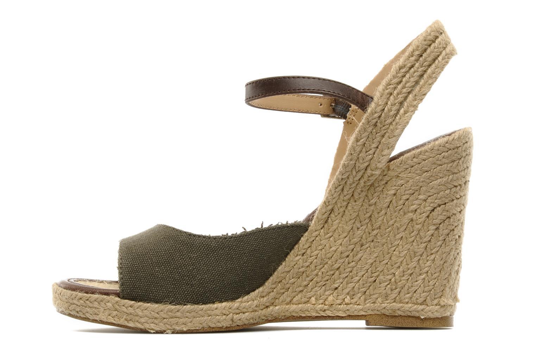 Sandals Jonak Shirelle Green front view