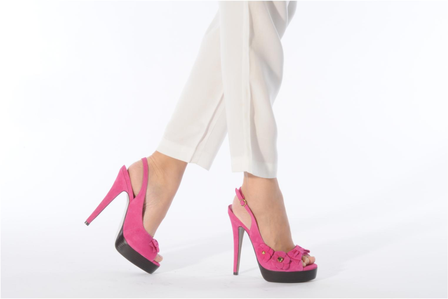 Sandals Carvela Gypsy Pink view from underneath / model view