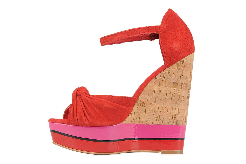 Sandales et nu-pieds Carvela Kennis Rouge vue face