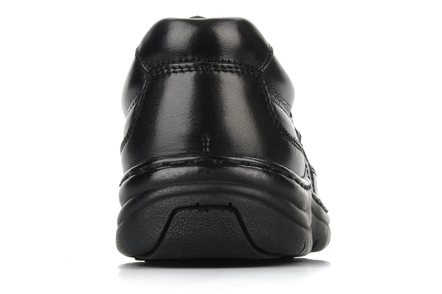 Lace-up shoes Hush Puppies Newmarket m Black view from the right