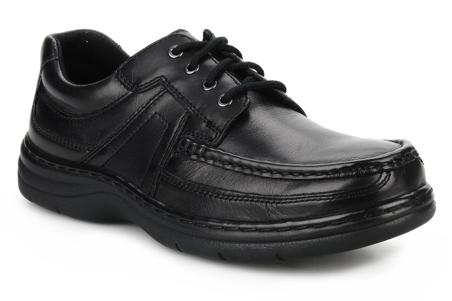 Lace-up shoes Hush Puppies Newmarket m Black detailed view/ Pair view