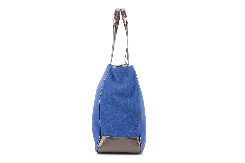 Handtaschen Georgia Rose Evening Cuir blau schuhe getragen