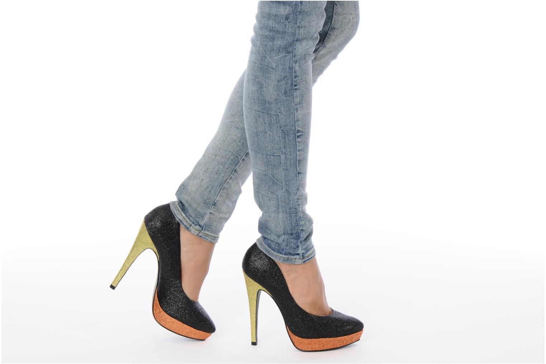 High heels Studio TMLS Pistols Multicolor view from underneath / model view