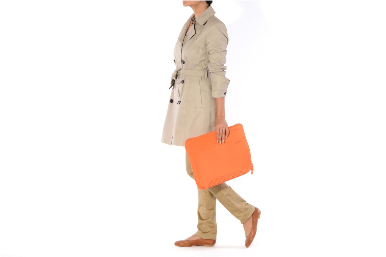 Petite Maroquinerie Samsonite Aramon laptop sleeve 15,6 Orange vue haut
