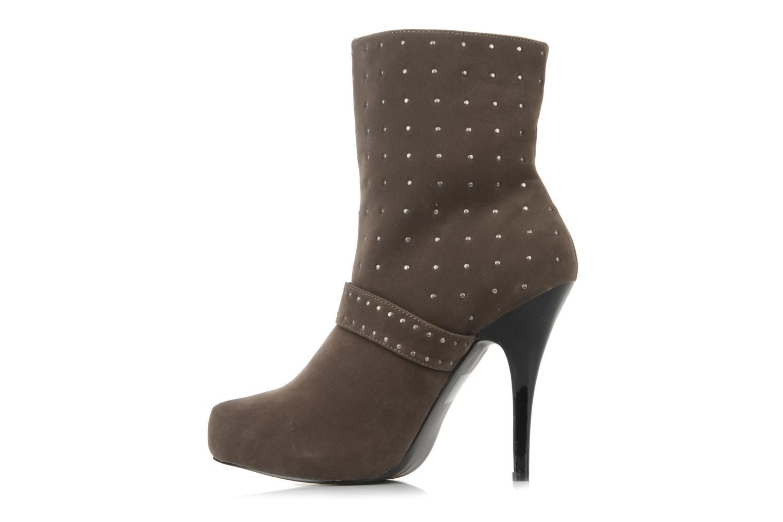 Stiefeletten & Boots Morgan Mael grau ansicht von vorne