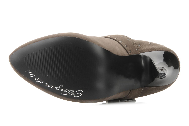 Stiefeletten & Boots Morgan Mael grau ansicht von oben