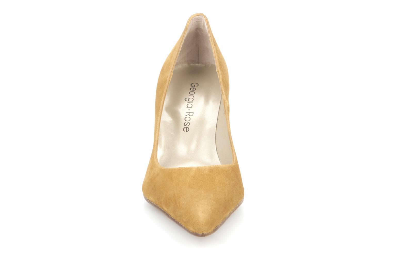 Escarpins Georgia Rose Nana Beige vue portées chaussures