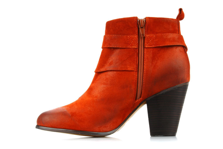 Boots en enkellaarsjes Jeffrey Campbell Cityslick Oranje voorkant