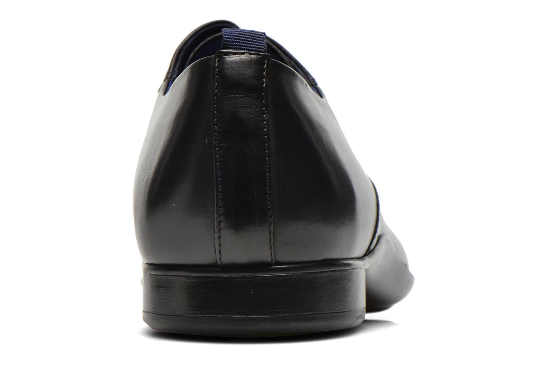 Chaussures à lacets Azzaro Giant Noir vue droite