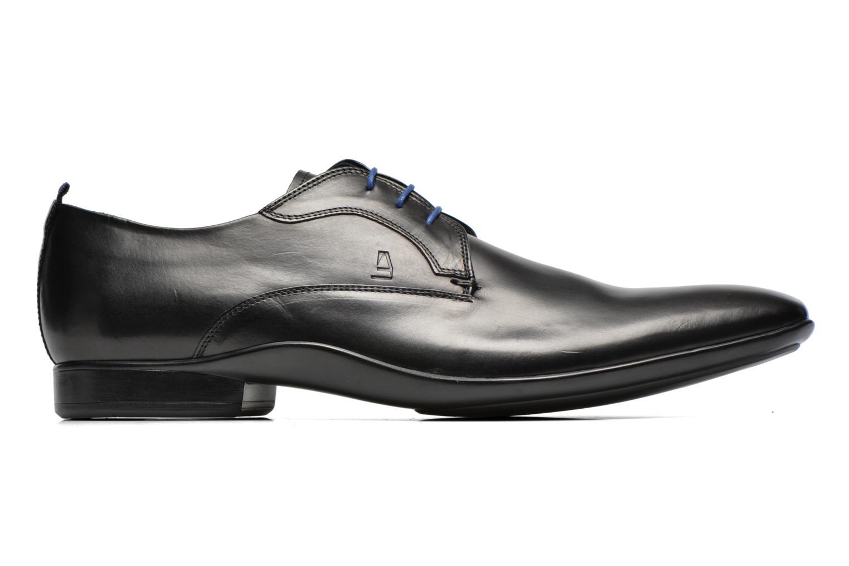 Chaussures à lacets Azzaro Giant Noir vue derrière