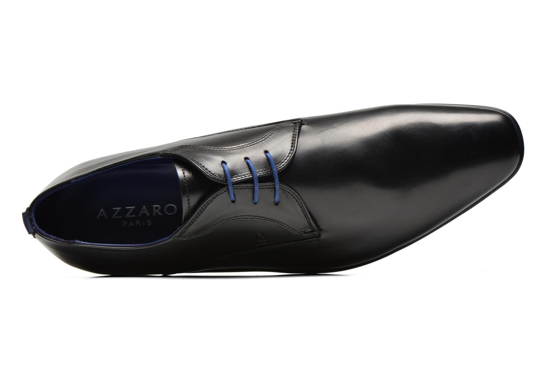 Chaussures à lacets Azzaro Giant Noir vue gauche