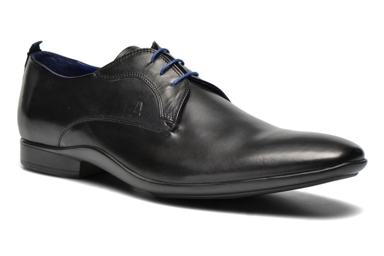 Marques Chaussure luxe homme Azzaro homme Giant Noir lactes BLEU