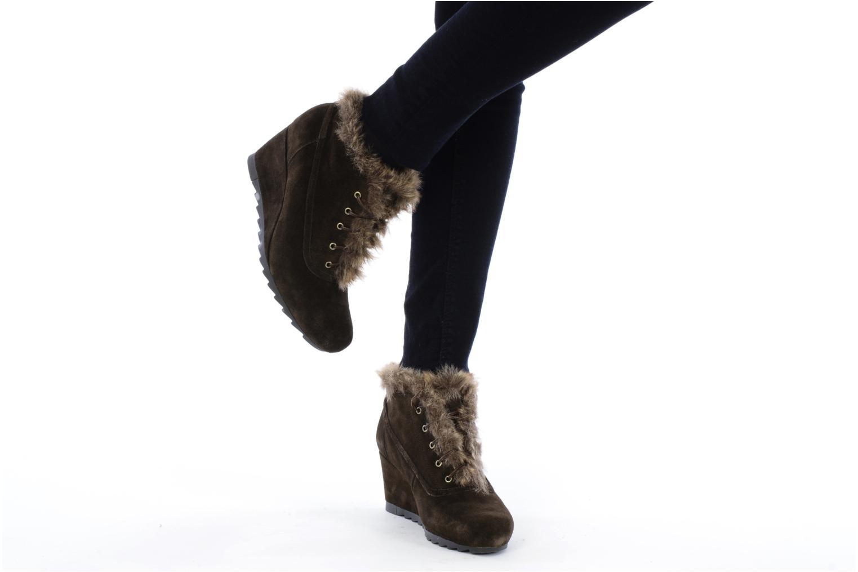 Chaussures à lacets Earthies Earthies seriph Marron vue bas / vue portée sac