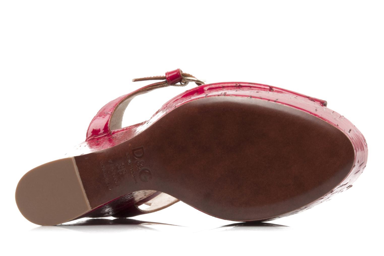 Sandalen D&G Piral Rood boven