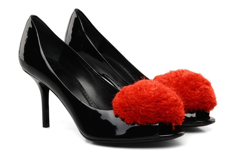 High heels Moschino Cheap & Chic Charonne Black 3/4 view