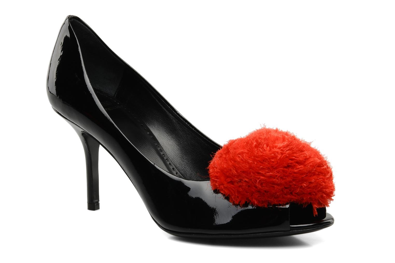 High heels Moschino Cheap & Chic Charonne Black detailed view/ Pair view