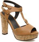 Plateform sandal t-bar